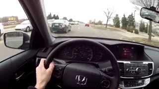 2014 Honda Accord Sport Manual - WR TV POV Test Drive 2 (City)