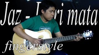 Video Jaz - Dari Mata fingerstyle gitar cover by (rivo lindo) download MP3, 3GP, MP4, WEBM, AVI, FLV Maret 2018