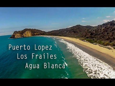 Les plus belles plages d'Equateur : Puerto López - Los Frailes - Isla de la Plata