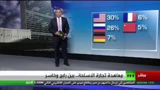 الولايات المتحدة أكبر مصدر للأسلحة والجزائر والمغرب أول المستوردين في أفريقيا