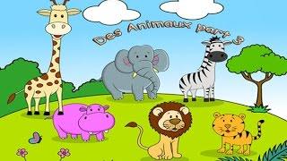 Французский для детей. Учим слова. Урок #5: Животные (Часть 3)
