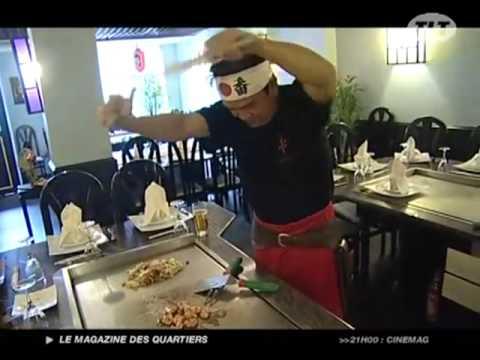 Restaurant katana rue des couteliers toulouse youtube for Cuisinier toulouse