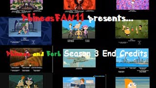 Phineas and Ferb - Season 3 End Credits (with Captions)