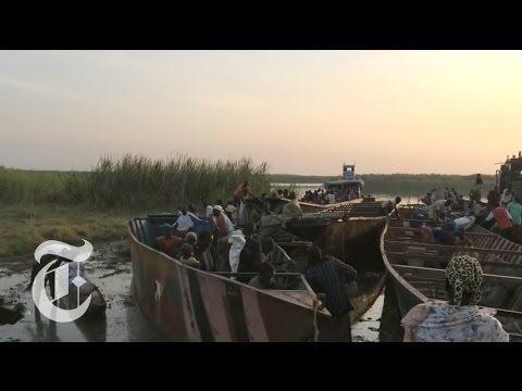 South Sudan: A Desperate River Crossing | The New York Times