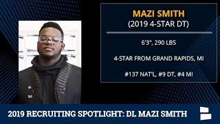 Mazi Smith: 2019 Michigan Football Recruiting Profile On The 4-Star DT From Grand Rapids