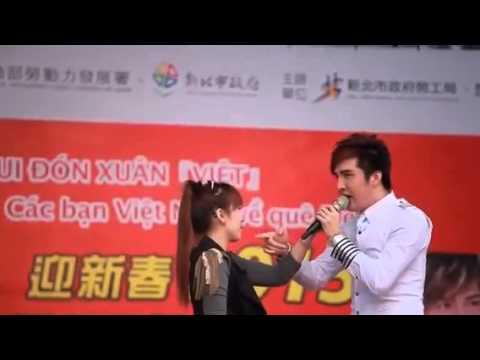 Lâm chấn khang biểu diễn tại đài loan 2015 nu hon lanh