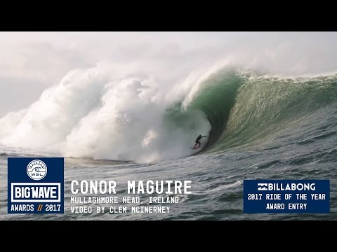Conor Maguire at Mullaghmore - 2017 Billabong Ride of the Ye