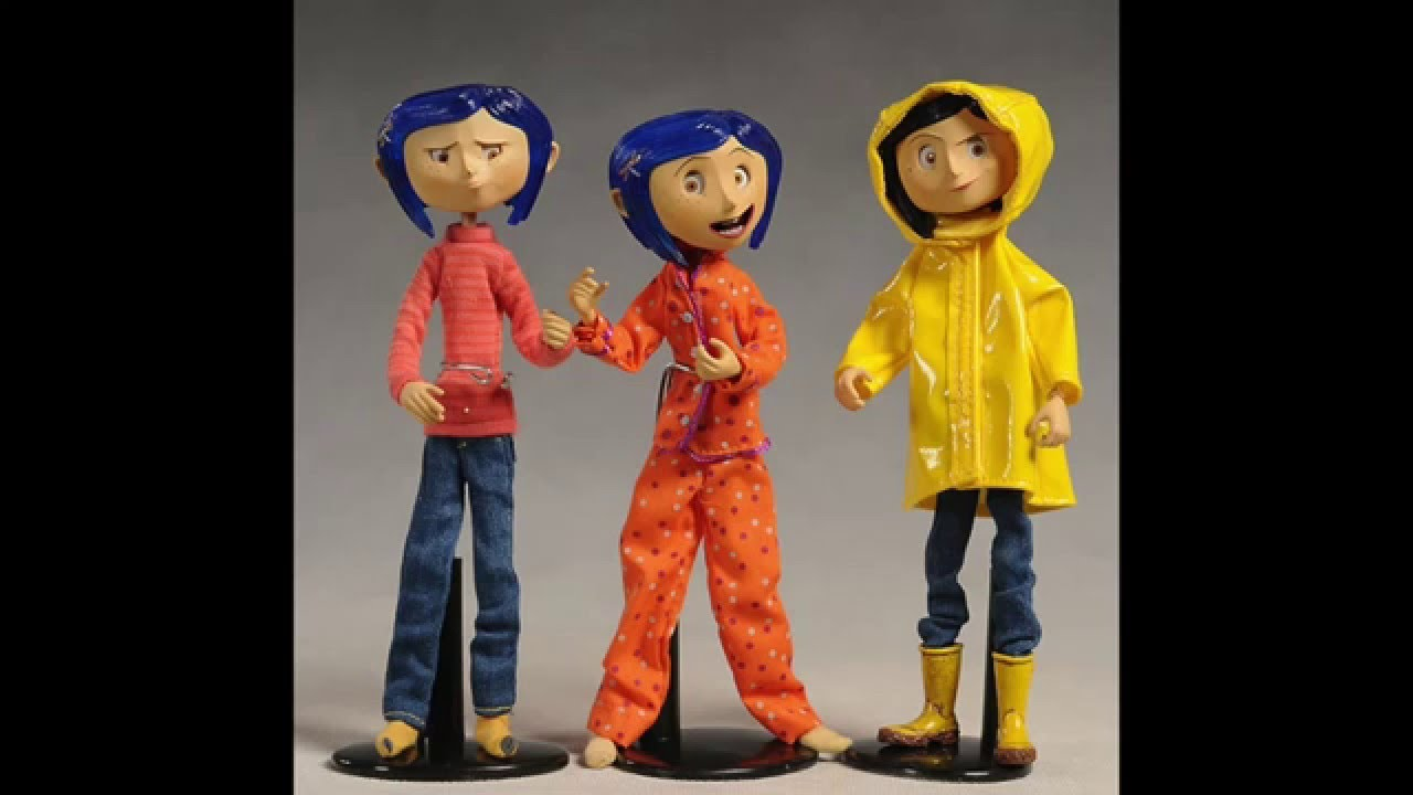 Coraline doll!!! - YouTube