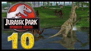Jurassic Park: Operation Genesis - Episode 10 - Lots of new!