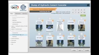 aci university concrete field testing technician elearning course