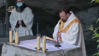 Messe de 10h à Lourdes du 2 mai 2021