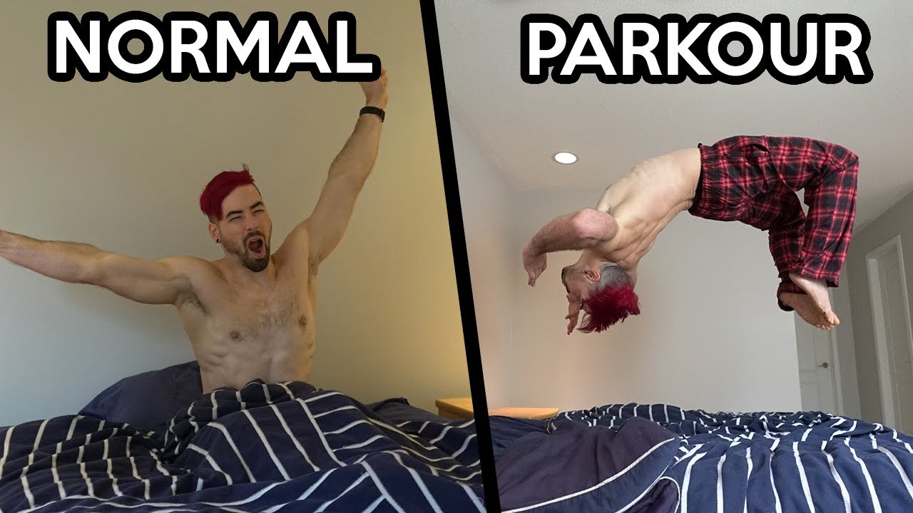 Parkour VS Normal People In Real Life (Part 2)