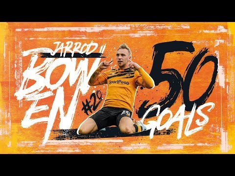 50-hull-city-goals-|-jarrod-bowen's-half-century