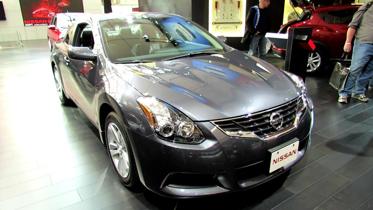 2012 Nissan Altima 2.5S Coupe Exterior And Interior At 2012 Toronto Auto  Show   YouTube
