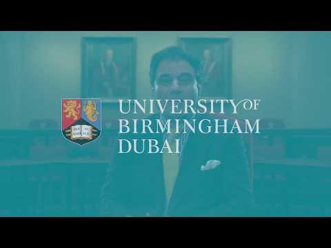 University of Birmingham Dubai - Lord Bilimoria - Chancellor Welcome