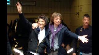 Rolling Stones Abfahrt vom Hotel zum Hamburger Stadtpark am 09.09.17