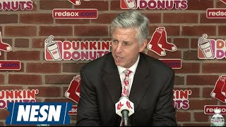 Dave Dombrowski Press Conference