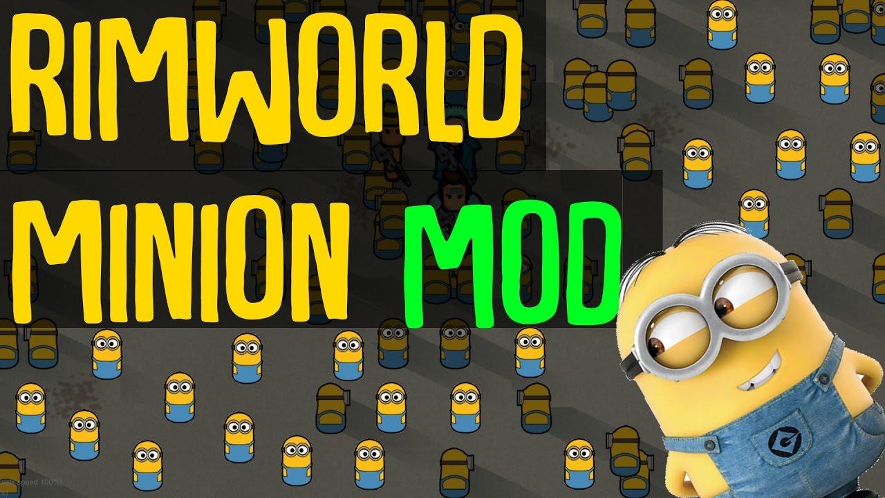 Rimworld Mod Showcase: Minions Mod! Rimworld Mod Guide by BaRKy