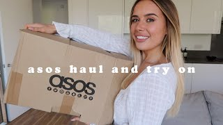 ASOS HAUL UNBOXING + TRY ON | Hello October