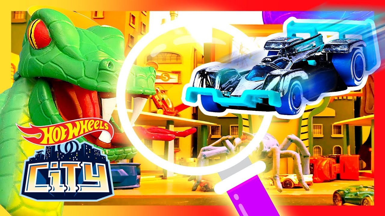 HIDDEN SNAKES IN HOT WHEELS CITY! | Hot Wheels City | Hot Wheels