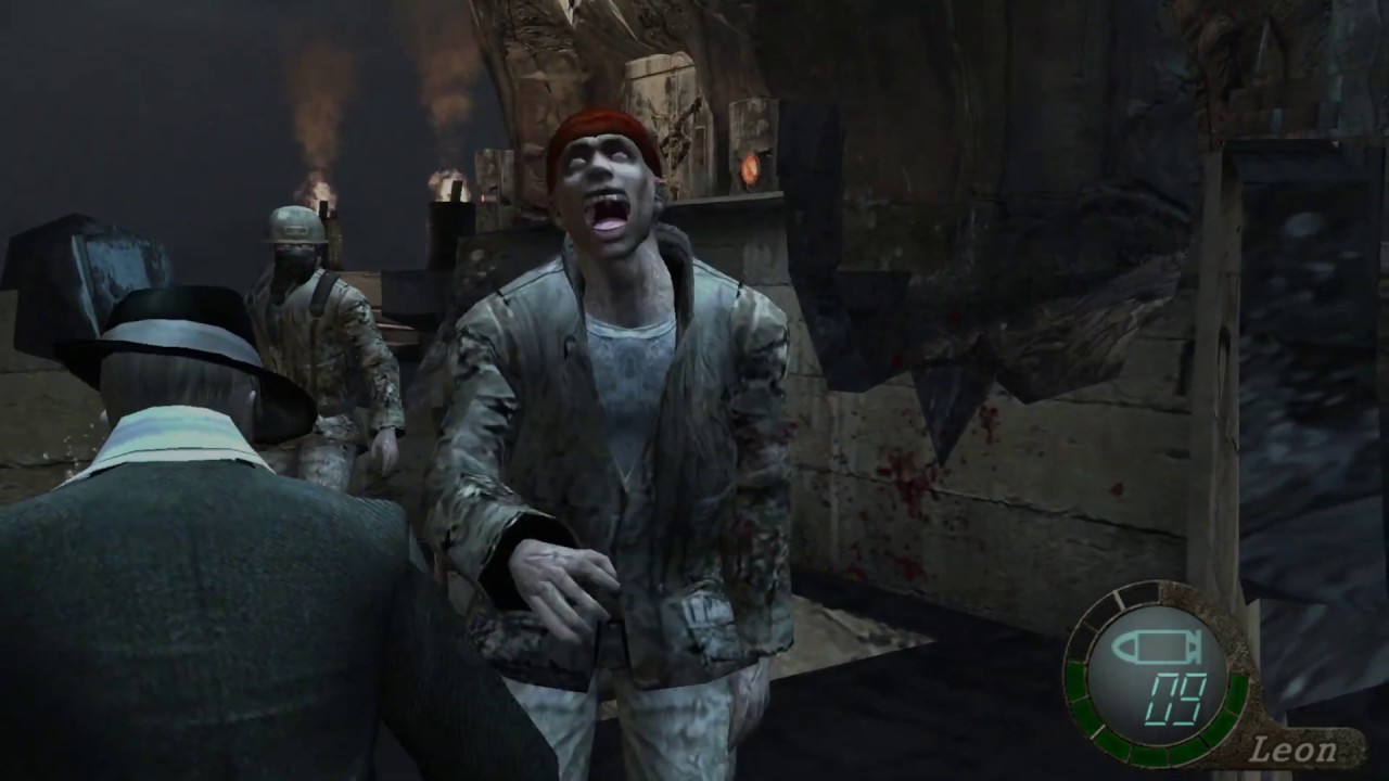 Resident Evil 4 - Professional, Leon The Fisherman, and Leon The Scrooge  Challenge Part 26