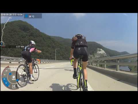 [Republic of korea bicycle riding] Soyosan Station - Labor Party Office (UHD)
