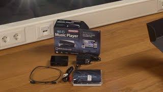 Unboxing en installatie van Sitecom WMA-1000 Wi-Fi Music Player - NEDERLANDS