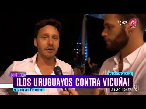 Los uruguayos vs Benjamín Vicuña