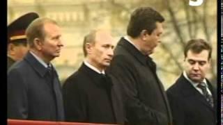 Медведев и Путин - Хочешь семечек (прикол).