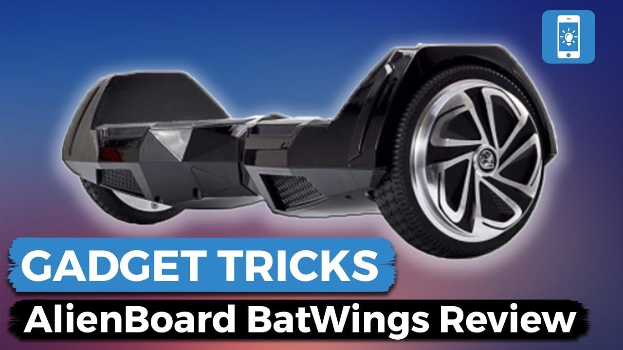 Die Zukunft Der Fortbewegung Hoverboard Alienboard Batwings Review