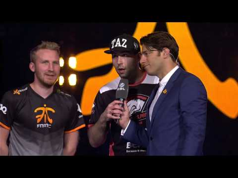 Member of losing CSGO team stops his fans from booing his opponent