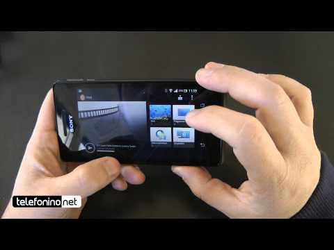 Sony Xperia V videoreview da Telefonino.net