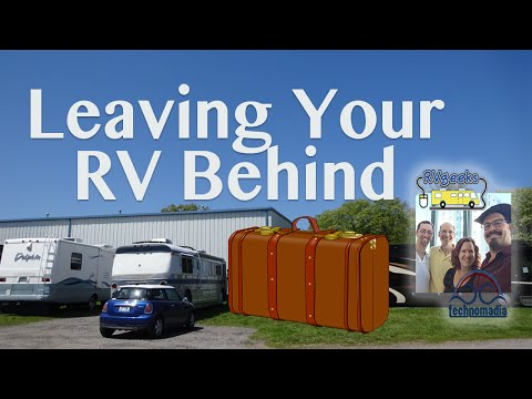 Tips for Preparing Your RV for Storage