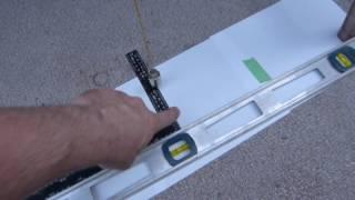 Ladder angles: Rung nosing angle