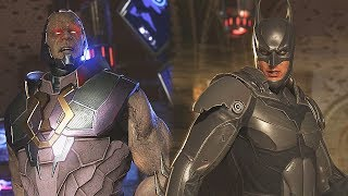 Injustice 2: Batman Vs Darkseid - | All Intro/Interaction Dialogues & Clash Quotes + Super Moves