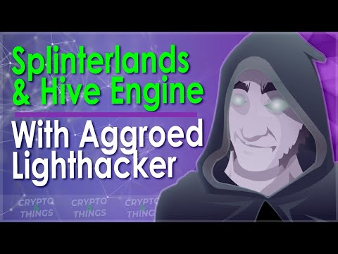 ▶️ Discussing Splinterlands & Hive Engine With Aggroed Lighthacker | EP#380
