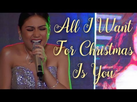 MORISSETTE - All I Want For Christmas Is You (Robinsons Place Magnolia | December 15, 2018) #HD720p