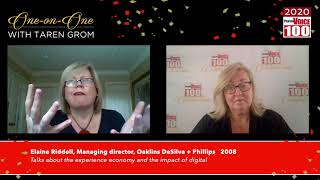 Elaine Riddell, Oaklins DeSilva + Phillips – 2020 PharmaVOICE 100 Celebration