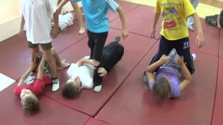 Дзюдо. Тренировка. Новички - 2. Centre Judo Kids. Feodosiya