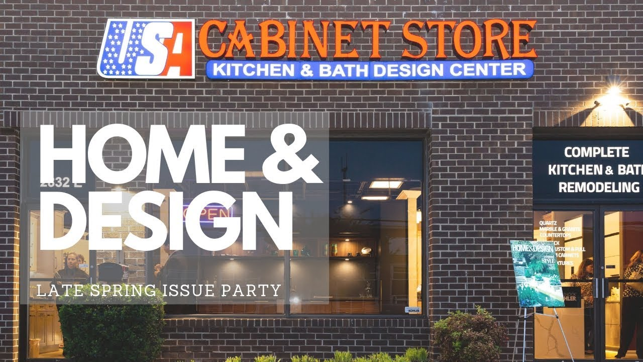 Home Design Late Spring Issue Party Hosted By Usa Cabinet Store