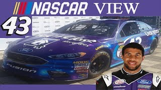 Nascar View #100 Bubba Wallace To The 43 In 2018