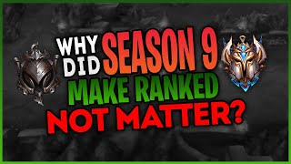 How this SEASON has Ruined League Of Legends RANKED GAMES FOREVER.