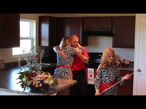 Veteran Family Sees Their Surprise Home For The First Time
