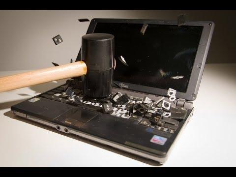defi n 5 casser un ordinateur hp youtube. Black Bedroom Furniture Sets. Home Design Ideas