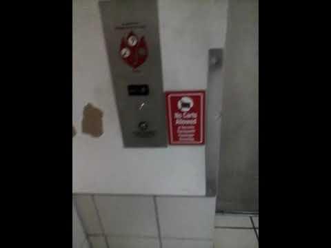 Elevator  at the internatiol airport Guam