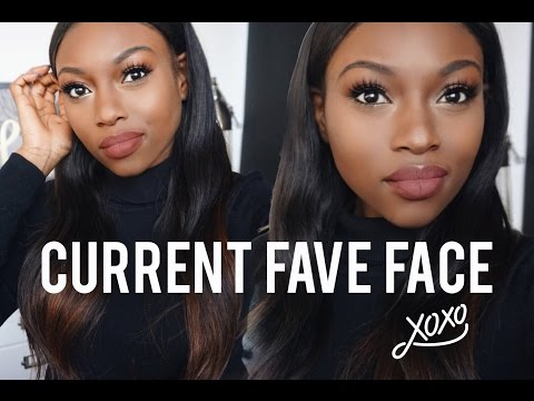 GLOWING SKIN & MATTE BROWN LIPS | FULL FACE CHATTY TUTORIAL! | PATRICIA BRIGHT