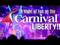A Night of Fun on the Carnival Liberty! | Red Carpet Night | Summer 2017!!!