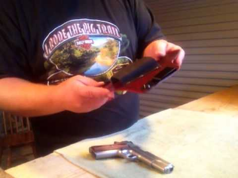 Ruger Sr1911 Review Part 2 Bigfoot Concealment Holster Review Youtube