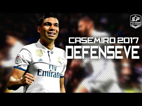 Casemiro ⚫ The Tank Defensive ⚫ Skills, Tackles & Goals 2017