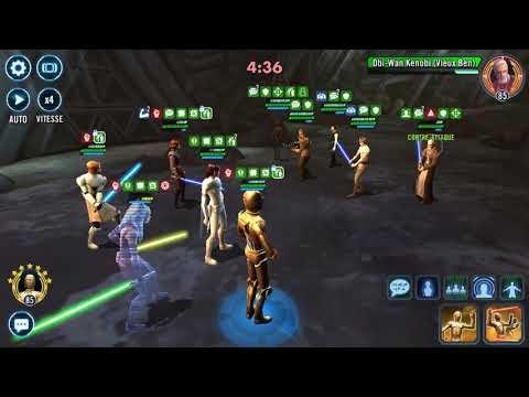 SWGOH TW Padme vs CLS with C3PO